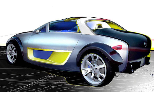 В Детройте Nissan представит концепт URGE