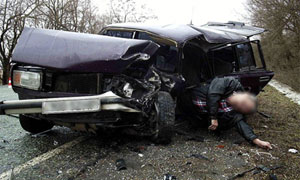 В результате ДТП погиб 53-летний водитель ВАЗ-2104