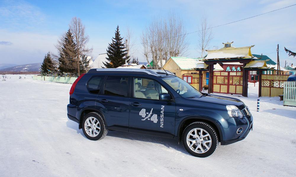 «Японцы» на Байкале. Тест-драйв Nissan X-Trial и Teana Four
