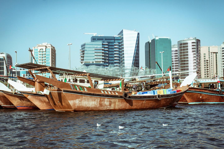 Арабские лодки дау
