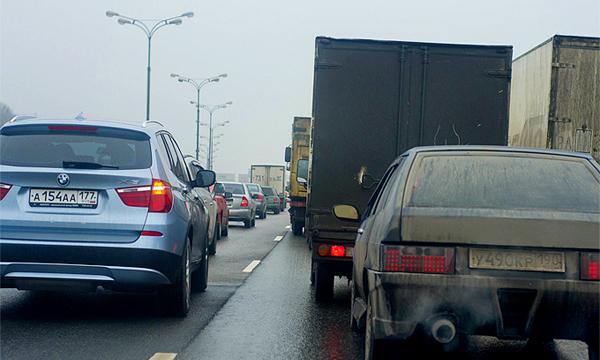 В Москве зафиксировали рекорд по протяженности пробки