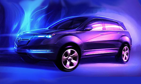 Acura New MDX Concept