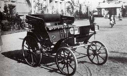 Автомобиль конструкции Фрезе и Яковлева 1896 г.