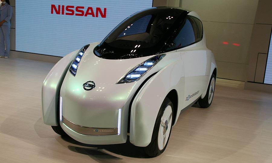 Nissan будет первым на рынке электромобилей