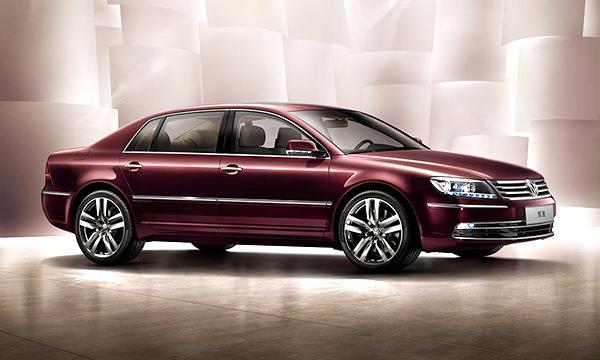 Volkswagen обновил седан Phaeton