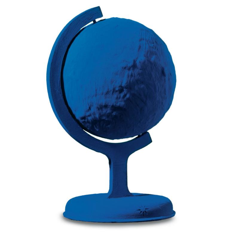 Ив Кляйн. «Синий глобус (RP 7)»,1988.© Yves Klein, ADAGP, Paris / RAO, Moscow, 2017