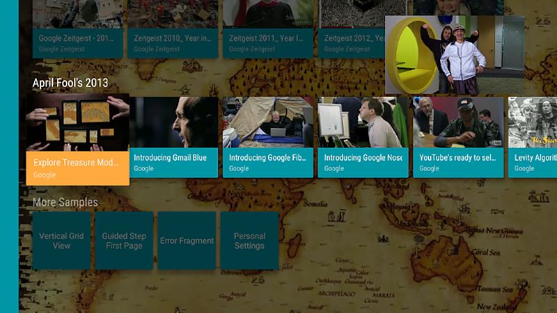 Видео в режиме «картинка в картинке» отображается в углу экрана, пока пользователь просматривает контент на главном экране