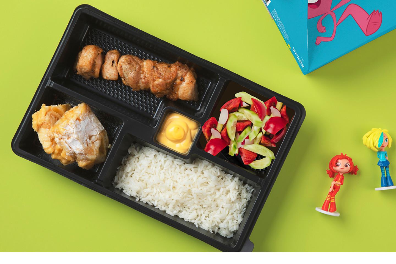 Детский комбо-обед с куриным шашлыком