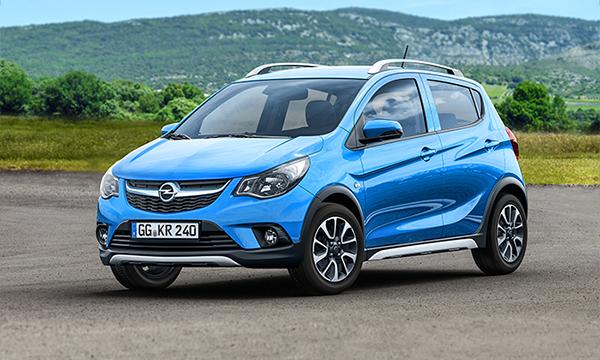 Самый маленький хэтчбек Opel получил внедорожную версию