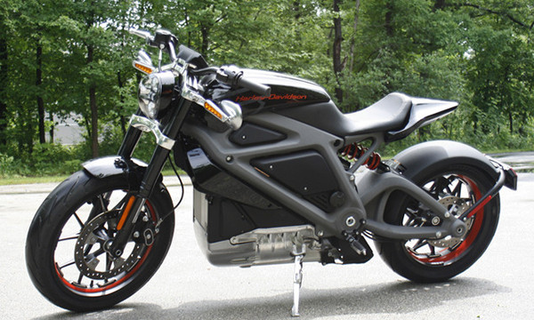Harley Davidson представил электрический мотоцикл
