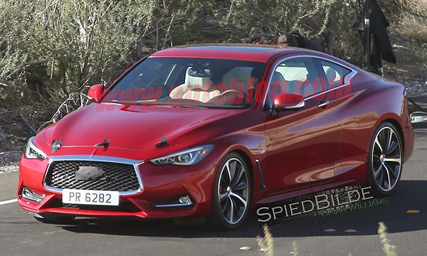 Дизайн нового купе Infiniti Q60 рассекретили до премьеры