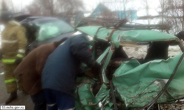 Следователь спровоцировала аварию с четырьмя погибшими в Новгородской области