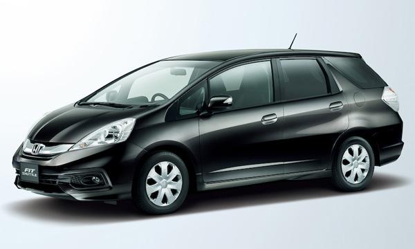 Honda рассекретила обновленный Fit Shuttle