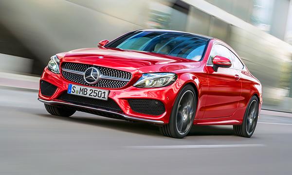 Mercedes рассекретил новый C-Class Coupe
