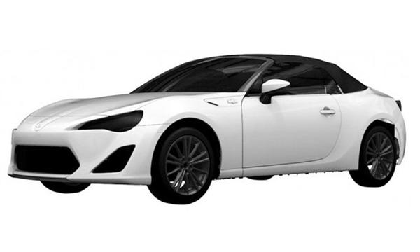 Toyota запатентовала родстер GT 86