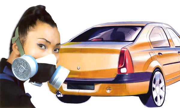 Нюхать новые автомобили вредно для здоровья