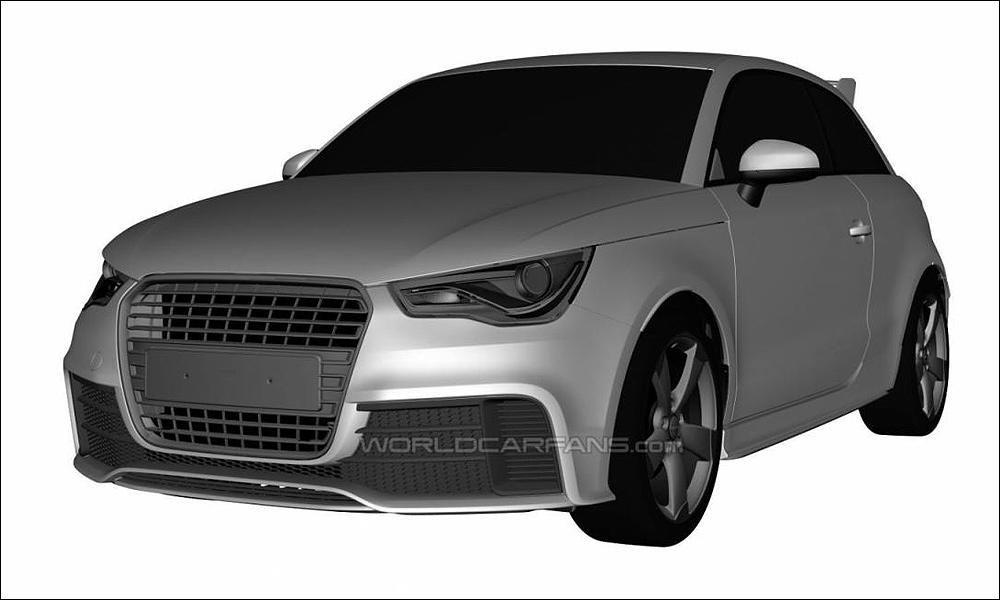 В интернете рассекретили «заряженный» Audi RS1
