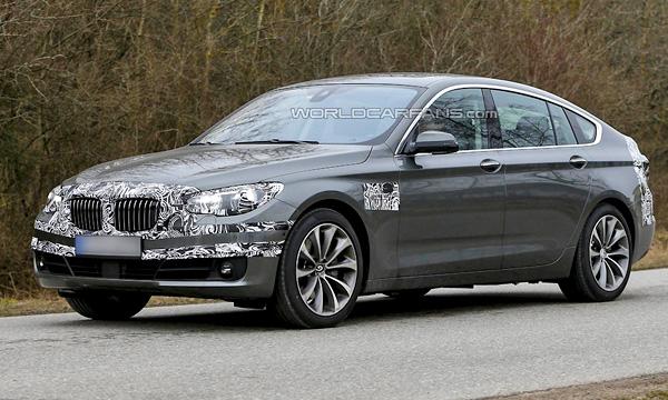 BMW обновит 5-Series GT через год