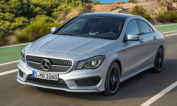 Mercedes прекратил поставки модели CLA в Россию