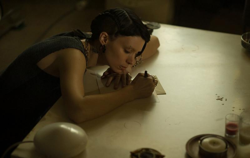 Фото: Кадр из к/ф «Девушка с татуировкой дракона»