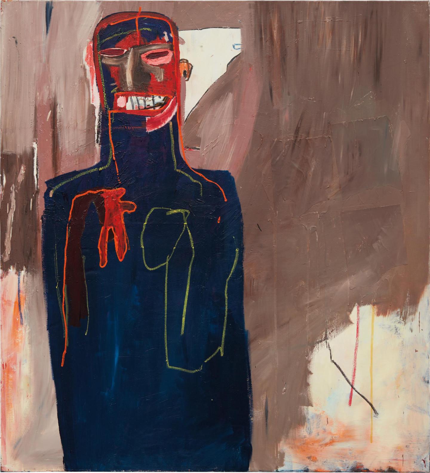 """Жан Мишель Баския. Untitled, 1984. Эстимейт $2 000 000 – 3 000 000. Phillips, Вечерний аукцион """"Современное искусство и искусство ХХ века"""". 18 мая 2017, Нью-Йорк"""