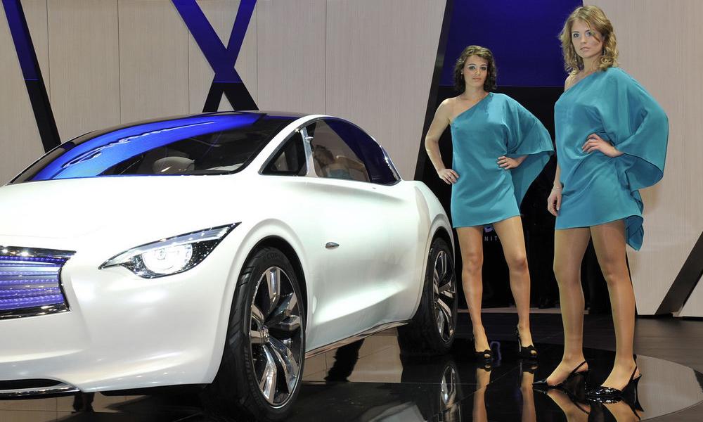 Девушки Женевского автосалона – 2011