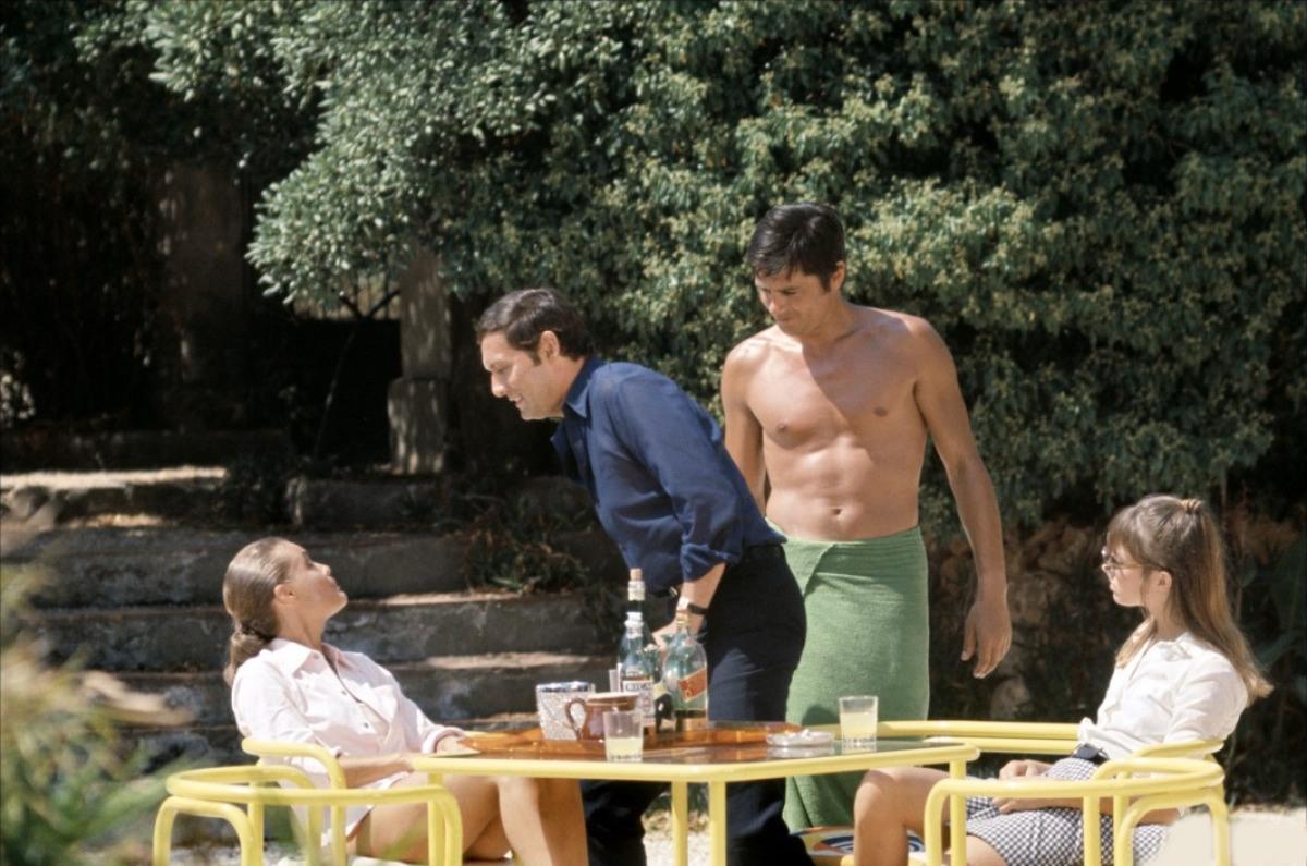 Кадр из фильма «Бассейн», 1969