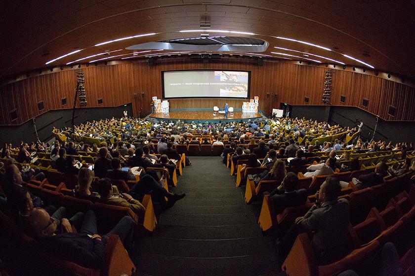 Лекция Германа Грефа на кампусе бизнес-школы, май 2016