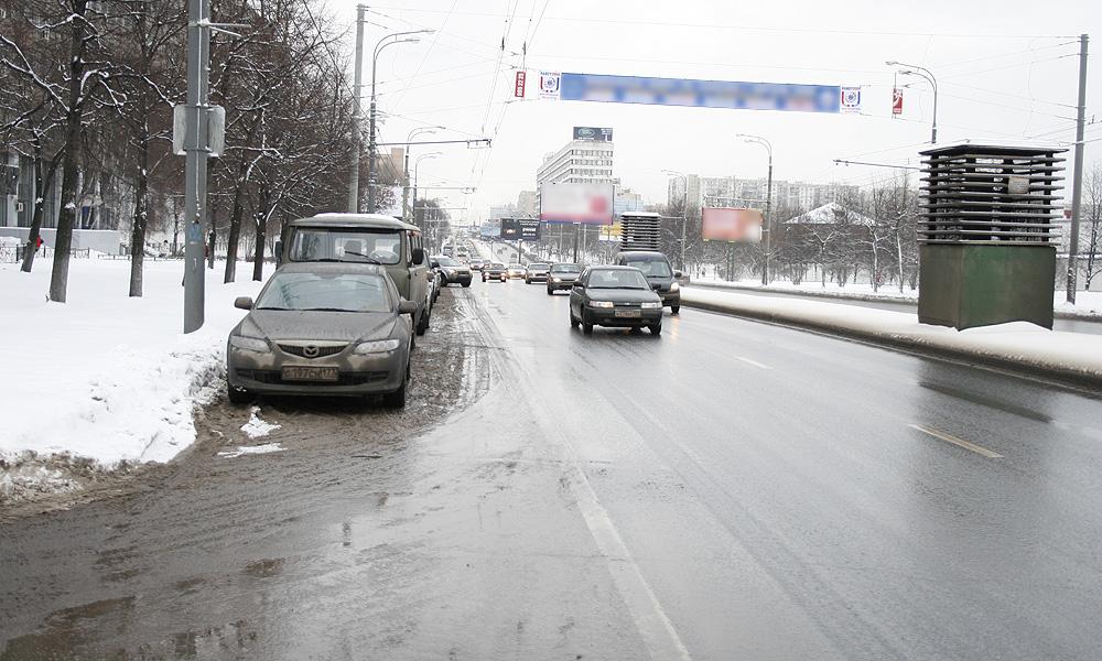 Этой зимой реагенты на дорогах Москвы оказались еще вреднее