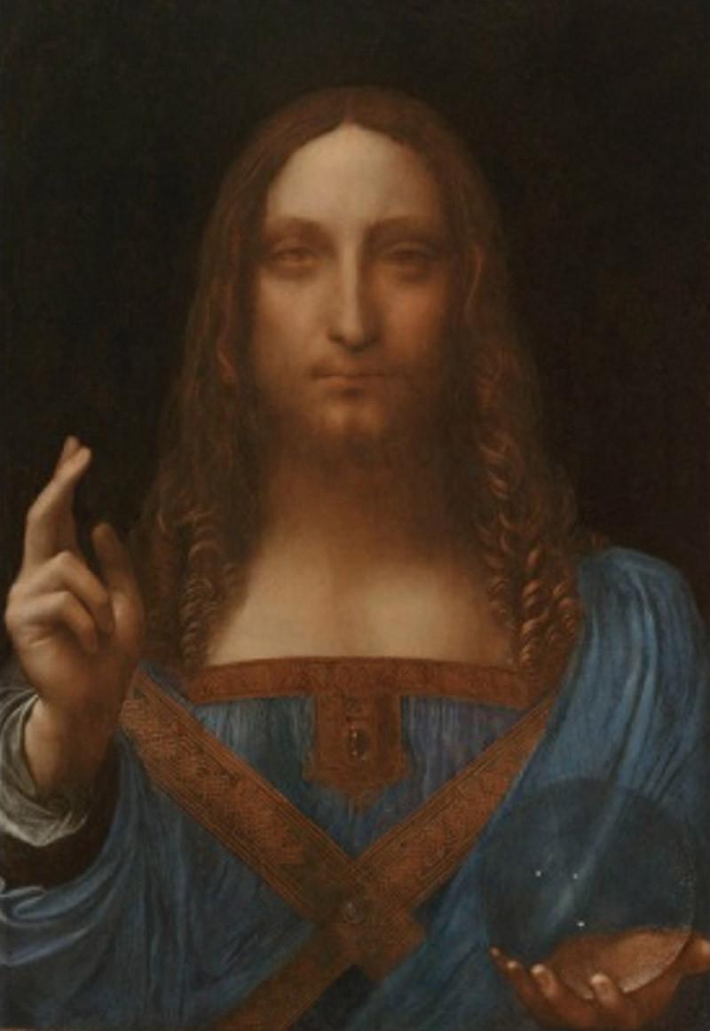 Леонардо да Винчи. «Спасителя мира»