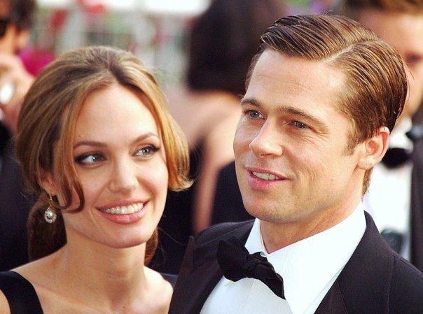 Фото: Анджелина Джоли и Брэд Питт @Wikipedia.org