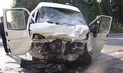 В Крыму в ДТП с маршруткой погиб 1 человек и 21 ранен
