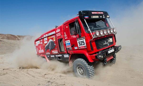 МАЗ назвал цену на гоночный грузовик