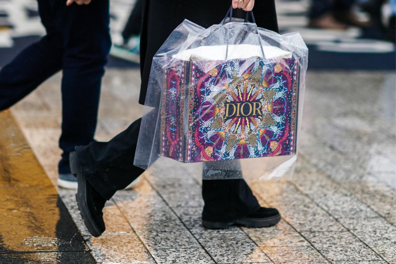 Новогодний подарочный пакет Dior