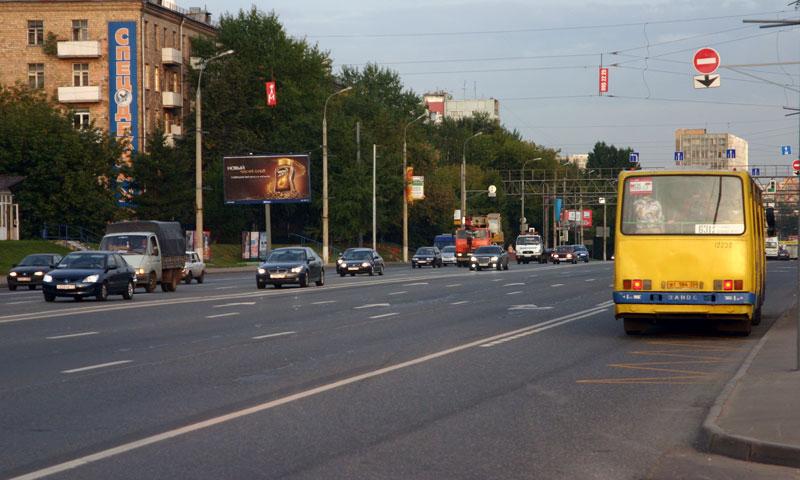 Какие из выделенных полос действуют в Москве