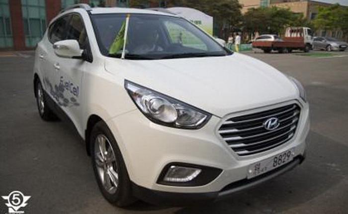 Hyundai готовит рестайлинг кроссовера ix35