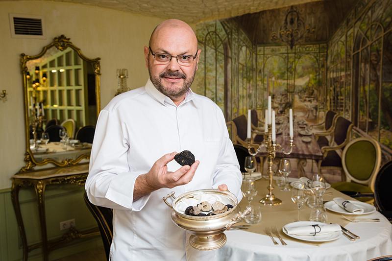 Доминик Соньяк, бренд-шеф ресторанов Chez Bruno и «Трюфельный дом Bruno»