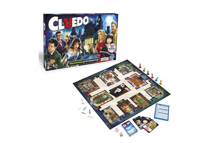 Настольная игра «Клюэдо»
