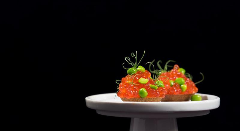 Красная икра, ресторан «Кококо»