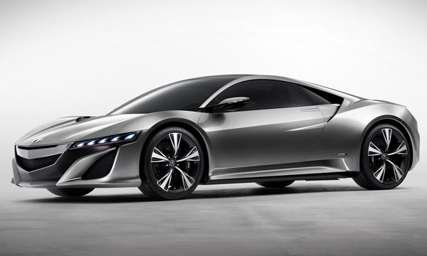 Новая Acura NSX появится в России в 2015 году
