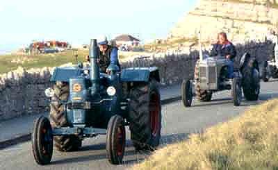 Британского тракториста оштрафовали за превышение скорости