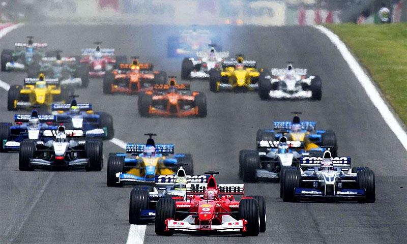 Формула-1 получит цветные шины