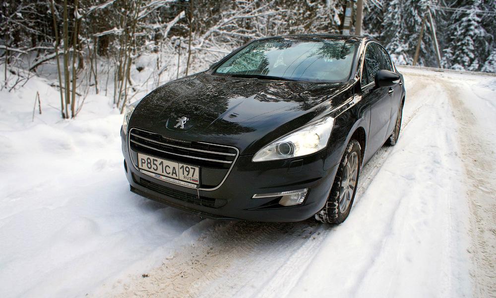 Тест Peugeot 508. Впервые на российских дорогах