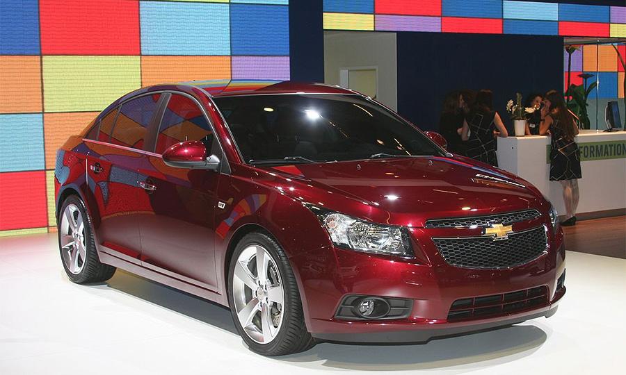 Европейская цена Chevrolet Cruze стартует от 15 800 долларов