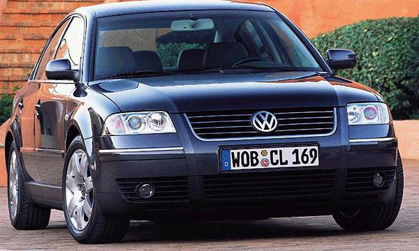 Volkswagen отзывает более 400 000 Passat 1999-2005 годов выпуска