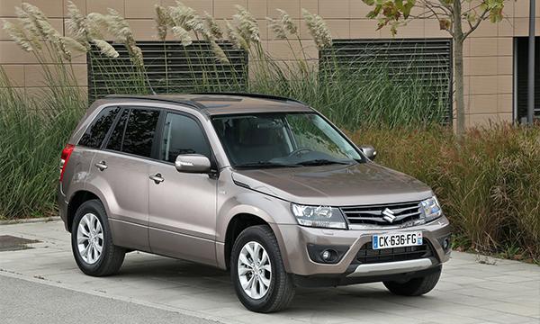 Suzukiотказалась от возобновления продаж Grand Vitara в России