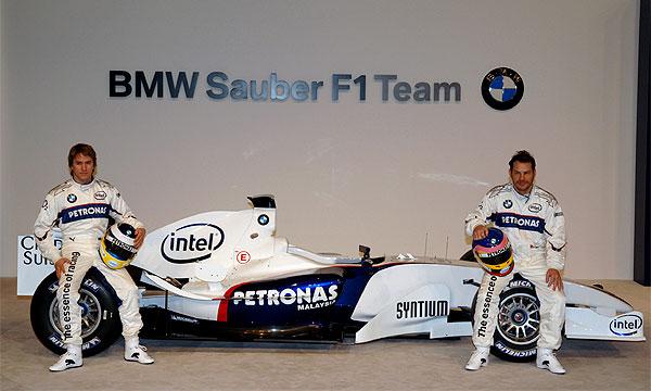 Команда BMW Sauber представит свою новую машину 16 января 2007 года