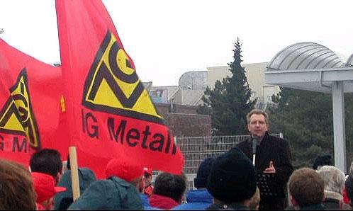 Профсоюз IG Metall пригрозил концерну Volkswagen