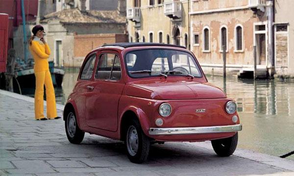 Fiat 500 назван самым сексуальным автомобилем