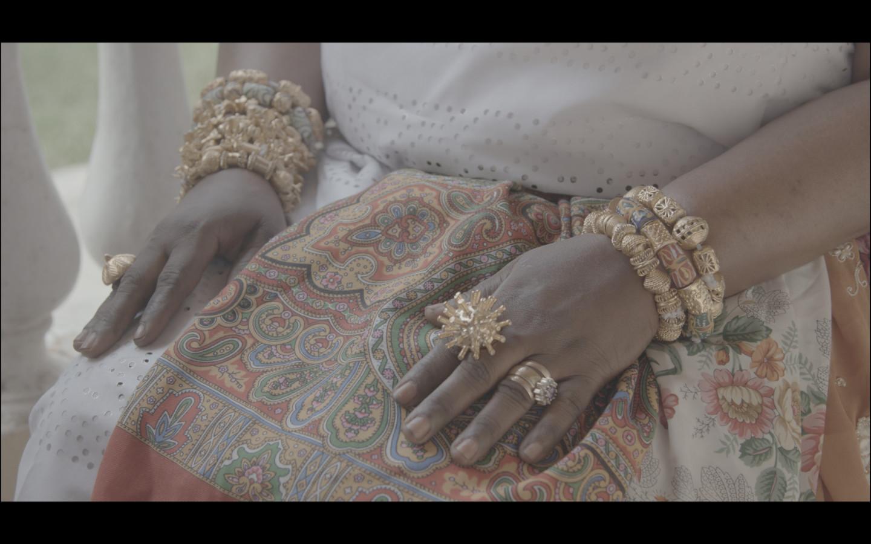 Амонфопон. Синтия, тетя Джейн. Кадр из документального фильма, рабочее название фильма — «Африка подскажет»